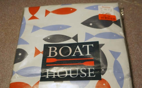boat house table cloth