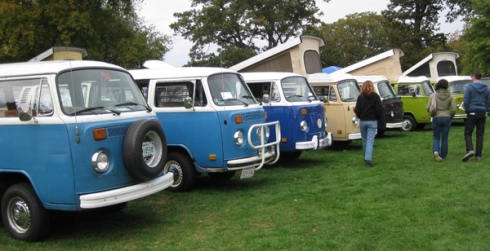 vw bus row