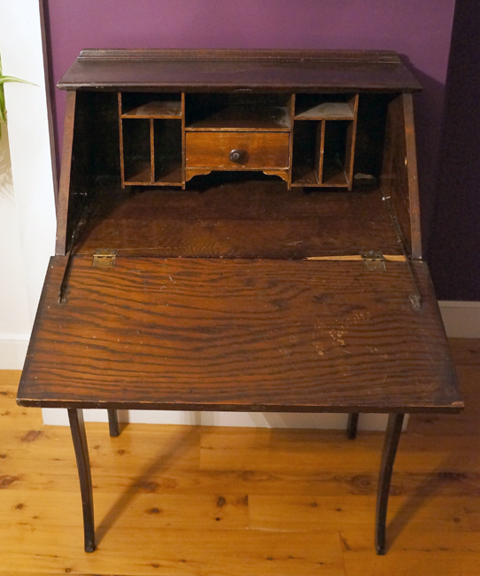 Small Antique Secretary Desk Antique Furniture