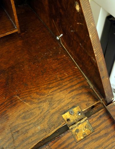 broken desk