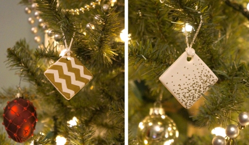 diy clay ornaments via yearofserendipity