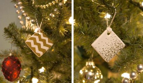 diy clay ornaments via yearofserendipity