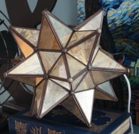 Mirrored star that I picked up in Mexico this summer