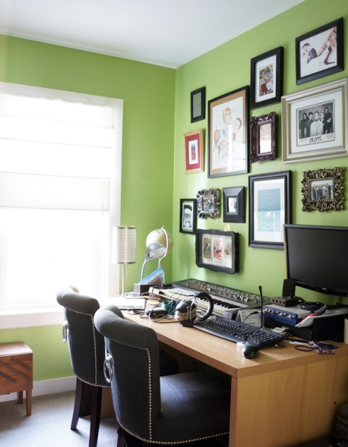 office mess before