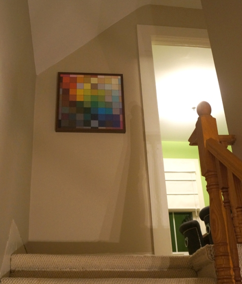 stair tile art