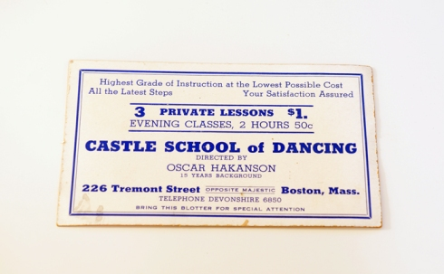 castle school of dance