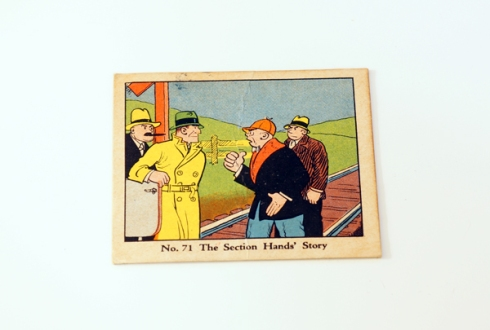 dick tracy card