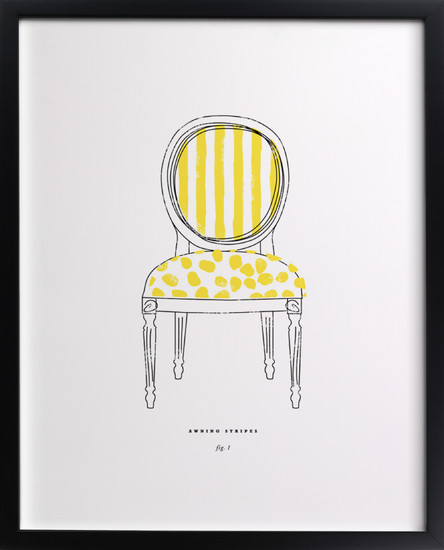 minted chair sketch