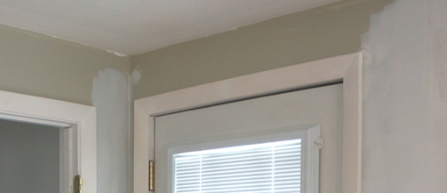 filled door trim