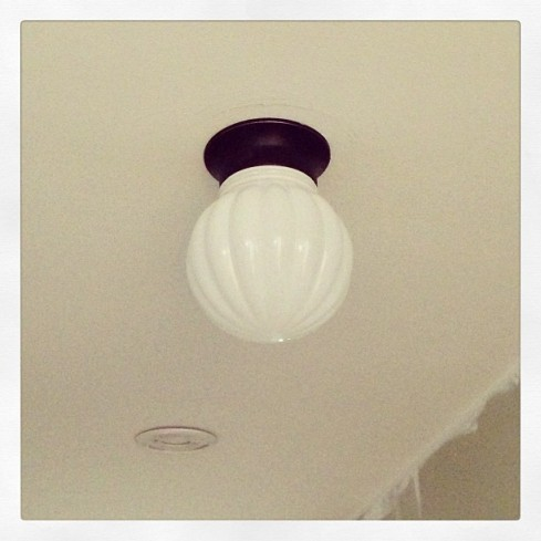 new hall light