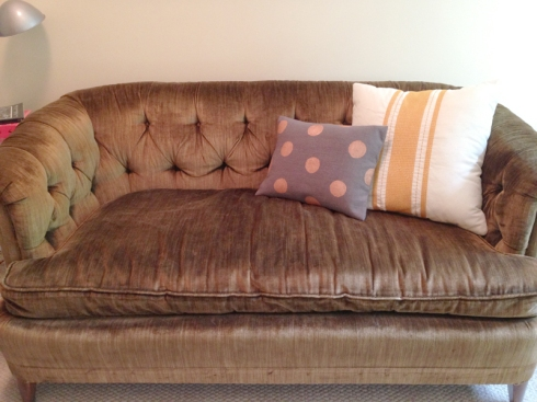 diy pillow settee